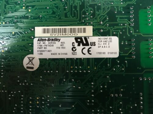 Allen Bradley 1784-PKTXD/B Communication Board Module