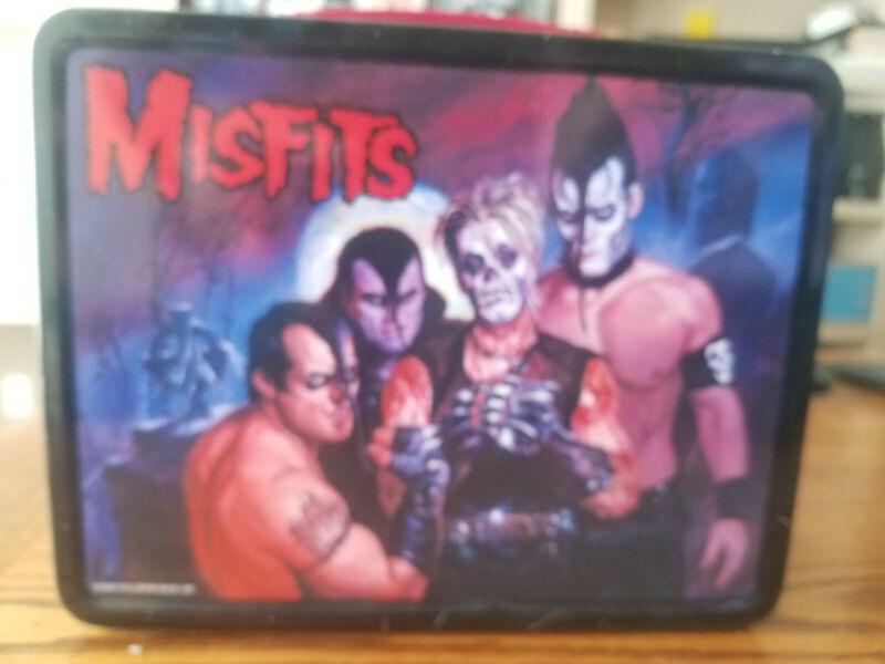 MISFITS Famous Monsters Lunch Box NECA 2000