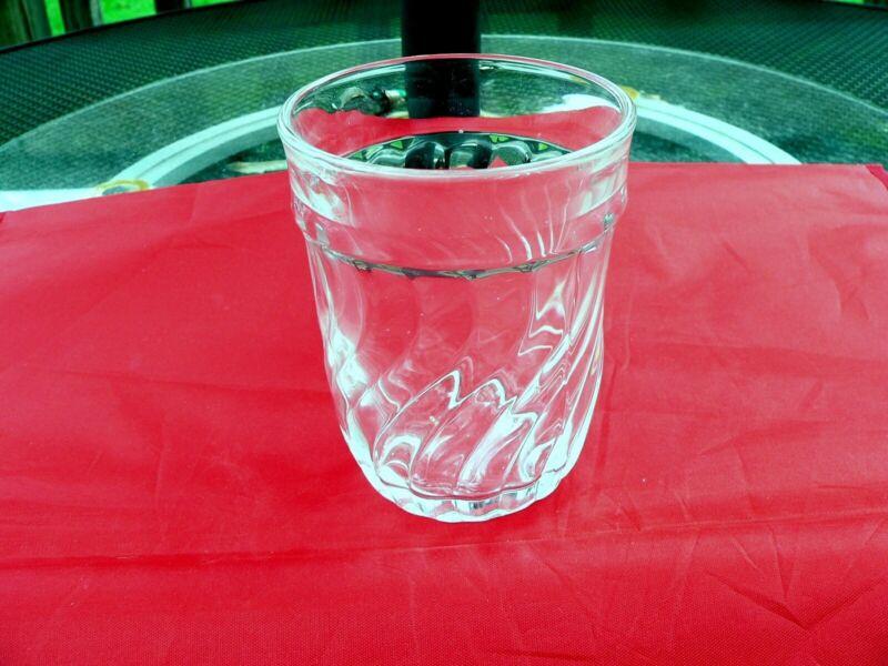 FOSTORIA COLONY TUMBLER FLAT 9oz. WATER