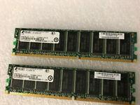2x 1GB ASA5540-MEM-2GB Approved Dram Memory for CISCO ASA 5540 series