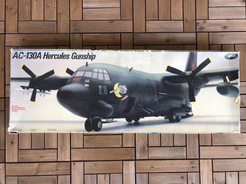 Vintage Testors Italeri Lockheed AC-130A Hercules Gunship NOS 1/48 Model Kit 596