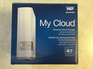 Disque dur Western Digital - 4 To stockage - Cloud personnel