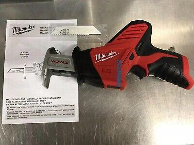 New Milwaukee 2420-20 New  M12 12V Cordless Li-Ion Reciprocating Saw Hackzall