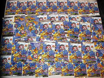1996 MARVEL THE X-MEN FLEER 36 FOIL PACKS CARDS NO WAX BOX WOLVERINE AVENGERS