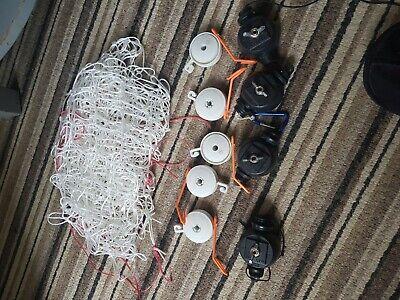 used hydroponics scrog net and yo yos