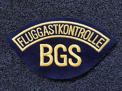(A12-AD17) BGS Bundesgrenzschutz Fluggastkontrolle Abzeichen Patch