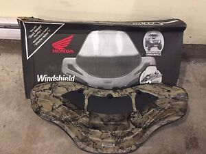 Genuine Honda camo atv windshields, $120 each