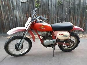 Honda XR80 Motorcycle 1982