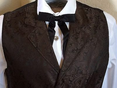Scully Rangewear Men's Cheyenne Brown/Black Paisley Western Vest(S-6X & Talls)