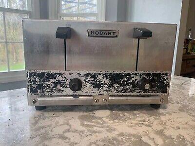 Hobart Et -275 Commercial Pop Up Toaster 4 Slice 1 Spacing 208v