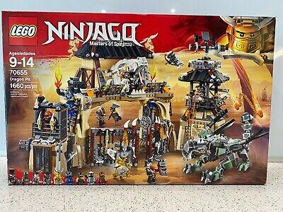 LEGO 70655 Ninjago Dragon Pit Masters of Spinjutsu New Unopened NIB