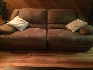 Couch/ Double recliner