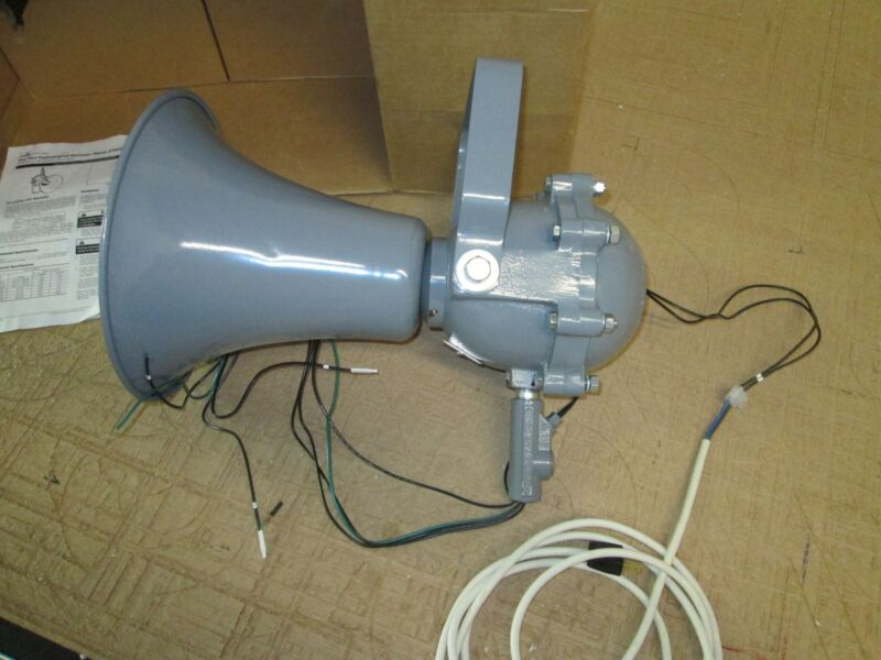 Cooper Crouse Hinds ETH 655/120 Explosion Proof Adaptatone Warning Speaker