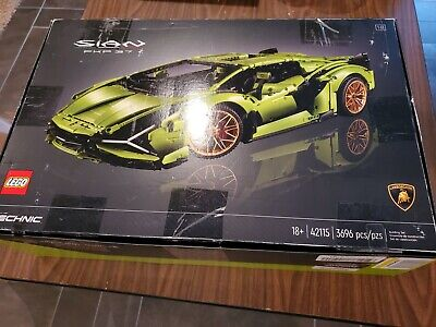 LEGO Lamborghini Si�n FKP 37 Technic (42115) - Unopened Damaged Box