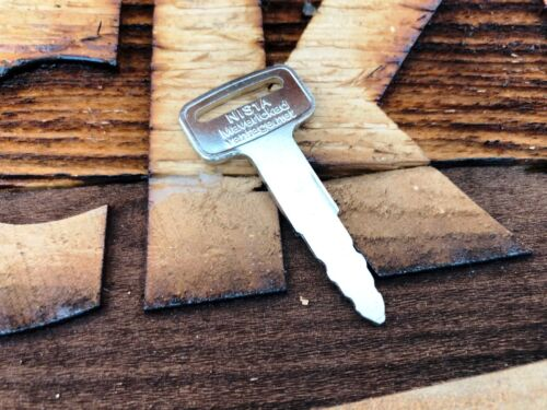 1 IGNITION KEY for NISSAN FORKLIFT/HEAVYEQUIP NIS-1A KEY00-GB01A 1A New lifts