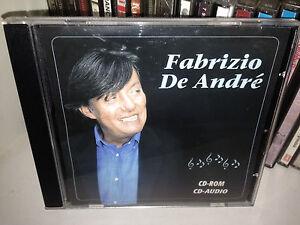 FABRIZIO-DE-ANDRE-039-RARO-CD-ROM-CD-AUDIO-034-FABRIZIO-DE-ANDRE-039-034