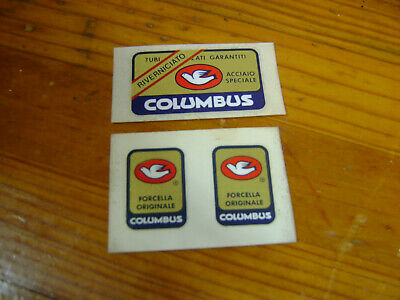 Set 47 Columbus LIFE Bicycle Decal Transfer Sticker