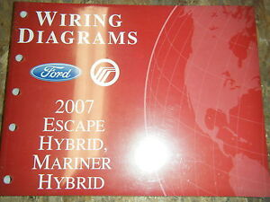 2007-FORD-ESCAPE-MERCURY-MARINER-HYBRID-FACTORY-WIRING-DIAGRAMS-MANUAL-SERVICE