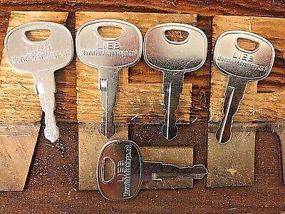5 Keys 606 Fits John Deere Jd Liebherr Loader Dozer Crawler 10221073 At322699