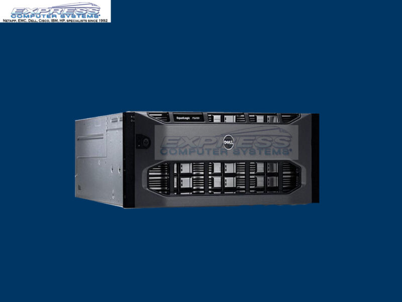 Dell Equallogic Ps6100e 24x 1tb Nl Sas 7.2k 1gbe 24tb Iscsi San Ps6100