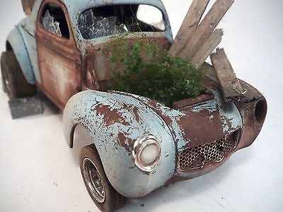 1941 Willys Coupe Pro Built Weathered Barn Find Gasser Drag Custom 1/25 Revell