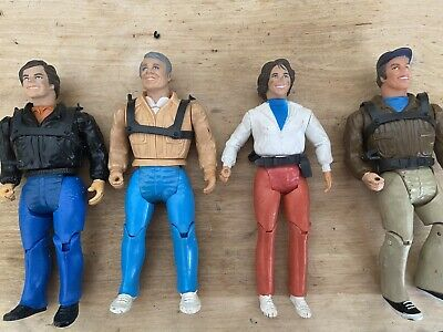 Vintage 1983 A-Team Action Figuers Lot Of 4