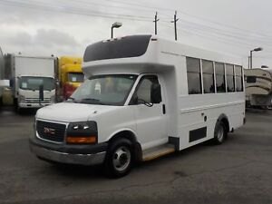 2008 GMC Savana G3500 13 Passenger Bus Diesel with Seatbelts and