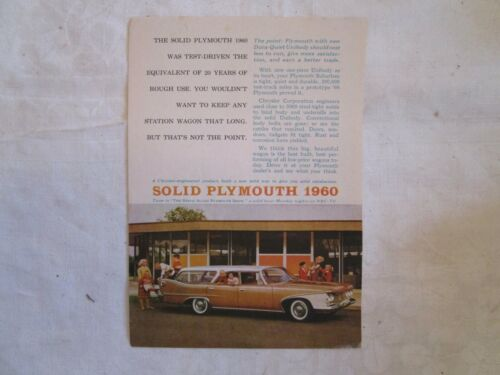Collection of Print Ads for Plymouth 1960 - 1971 (22 Different Ads)