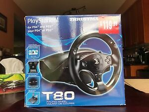 Thrustmaster T-80 Racing Wheel for PS4 and PS3