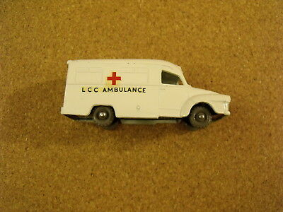 VINTAGE LESNEY MATCHBOX # 14 LOMUS AMBULANCE GRAY PLASTIC WHEELS for sale  Shipping to India