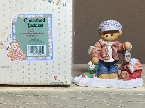 """Cherished Teddies """"Rich"""" 352721"""