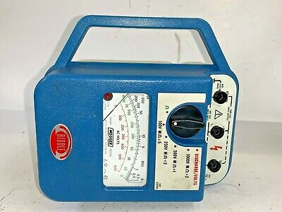 Megger Biddle Insulation Tester Kit 210159 600 Volts