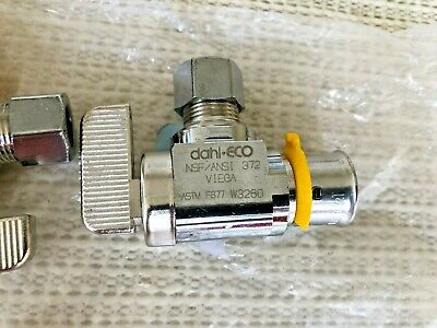 Two New Dahl-eco Viega Pex Fitting Astm F877 Y02116 Valve Free Shipping