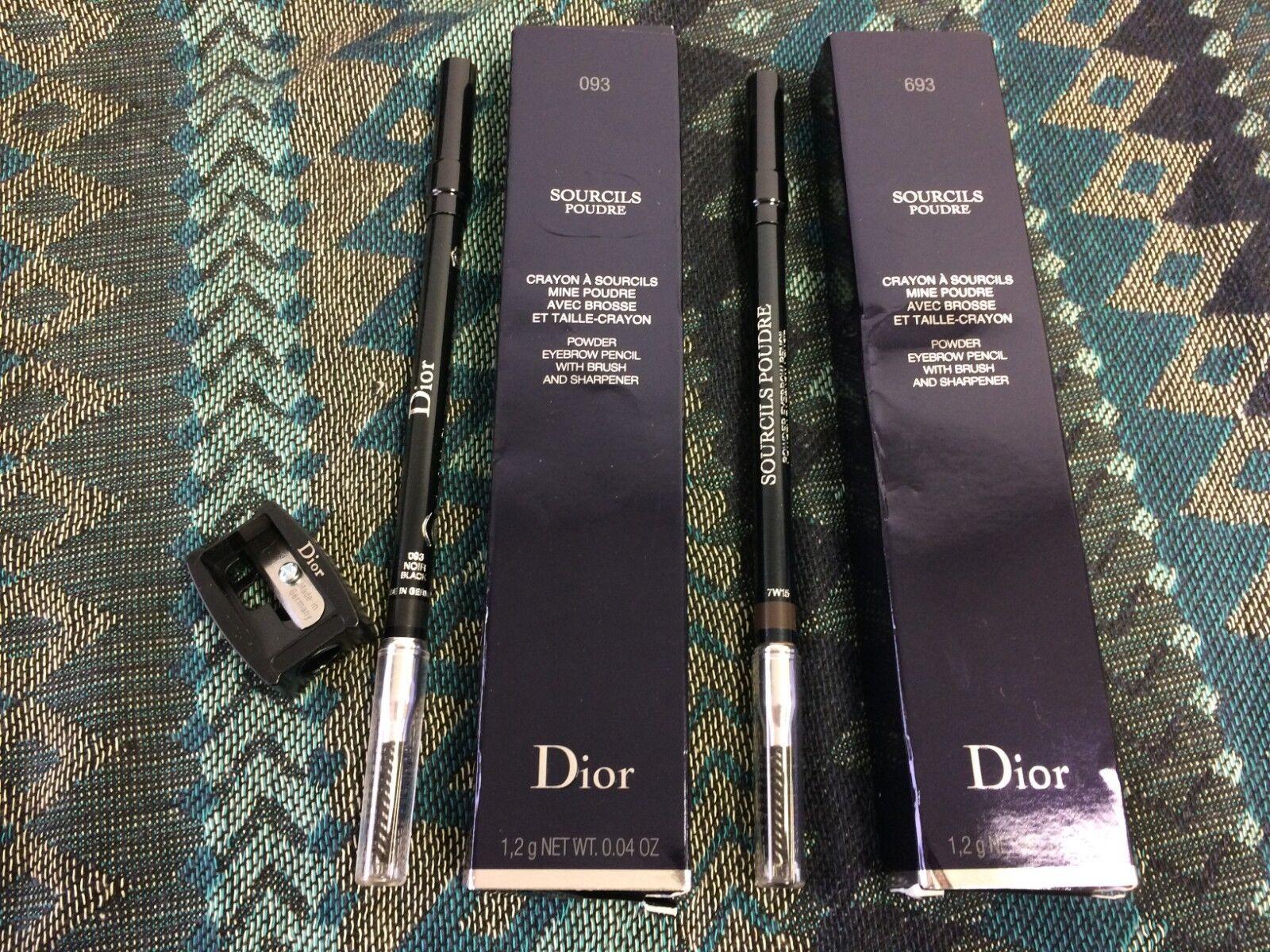 Dior Sourcils Poudre Eyebrow Pencil NIB