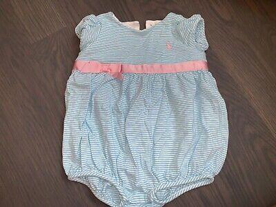 Ralph Lauren Infant Girl 9 Months Romper