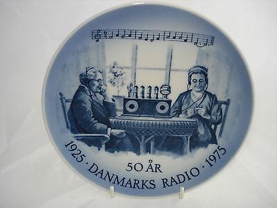 BEAUTIFUL ROYAL COPENHAGEN RADIO 1925 TO 1975 ANNIVERSA