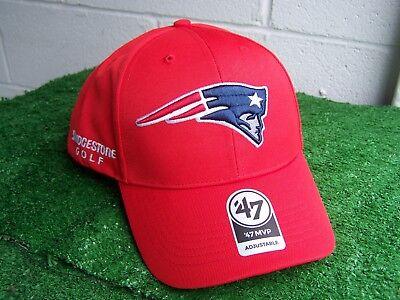 Bridgestone Golf New England Patriots Rot Golfhut Kappe NFL Team Verstellbar