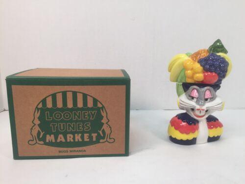 Looney Tunes Bugs Bunny Carmen Miranda Salt Pepper Shakers Vintage Warner Bros