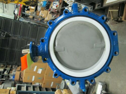 "Keystone Resilient Seat Lug Type Butterfly Valve Fig# 992 14"" (New)"
