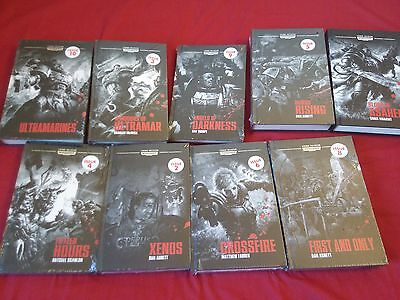 Warhammer 40,000 Legends Hardback Books Horus Heresy etc