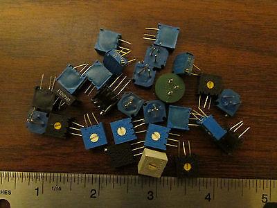 27 Assorted Multi-turn Potentiometer Single-turn Pcb Mount