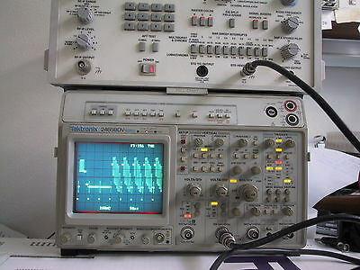 Calibrated Refurbed Tektronix 2465bdv 400mhz Oscilloscope 1 Yr Guaran Avail