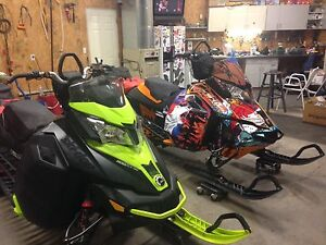 2014 SKIDOO X SUMMIT XM
