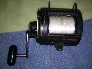 Shimano TLD 25 Lever Drag Fishing Reel 30lb mono Hamilton Newcastle Area Preview
