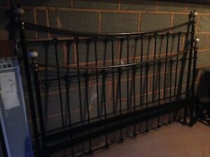 Wrought Iron So To Bed bedstead frame Super King Black