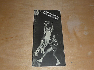 1965 1966 Colorado College Basketball Track Wrestling Skiing Media Guide Ex