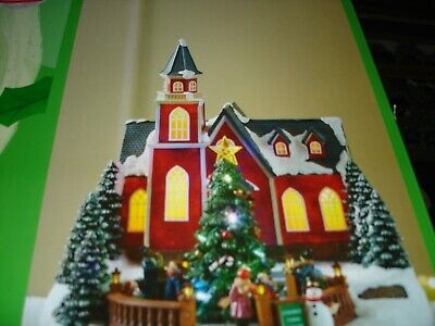 HOLIDAY LIVING CONWAY TOWN SQUARE #2127184 LED Musical Motion Activated 8 Songs
