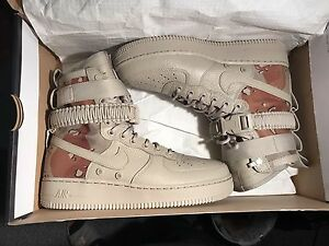 air force 1 shef field camo sz 8