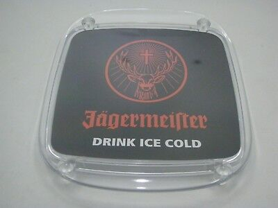 Jagermeister Advertising Plastic Bar Counter Tray For Coin Change Counter Change Coin Tray