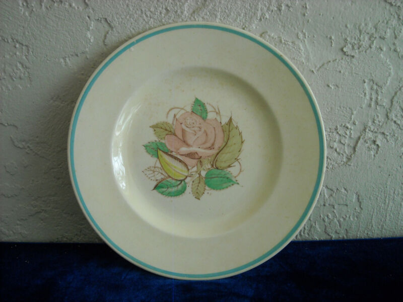 Susie Cooper Patricia Rose Breakfast Set Plate